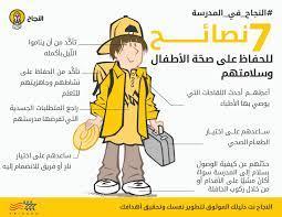 انفوغرافيك: 7 نصائح للحفاظ على صحة الأطفال وسلامتهم في المدرسة