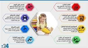 إنفوغراف: 8 نصائح لتشجيع أطفالك على حب القراءة